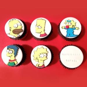 Cupcakes Simpsons