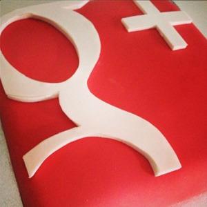 Tarta Google +