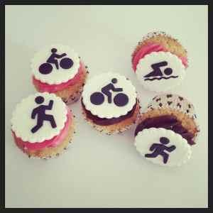 Cupcakes Triatlon