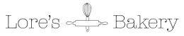 Logo Lores Bakery Definitivo