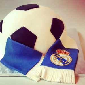 Tarta Balón R.Madrid