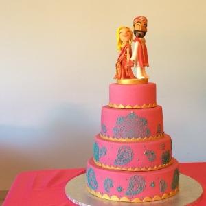 tarta boda hindú